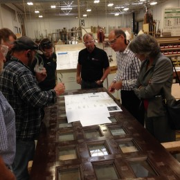 Illinois Wood Utilization Team, Bernhard Woodwork, architectural woodwork